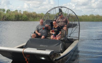 Fort Lauderdale Airboat Rides - Tourists enjoying their ride